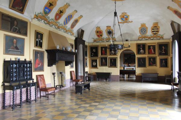 Sala degli Stemmi, Castello di Monticello d'Alba