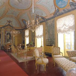 Salone di Diana, Castello di Monticello