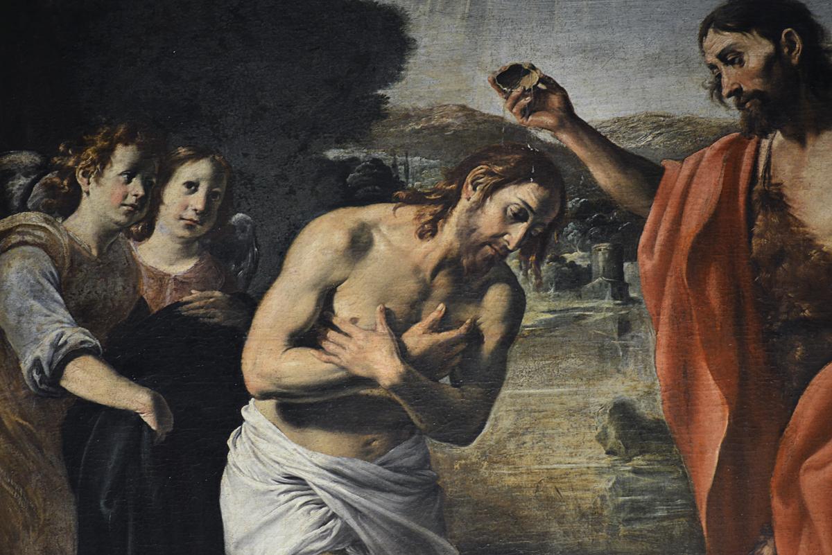 Battesimo di Gesù Chiesa di San Giovanni - Alba