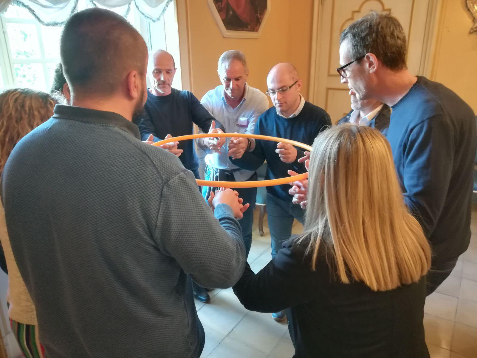 Team building dell'azienda Astrazaneca