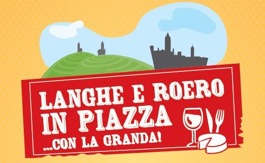 Logo Langhe e Roero in Piazza
